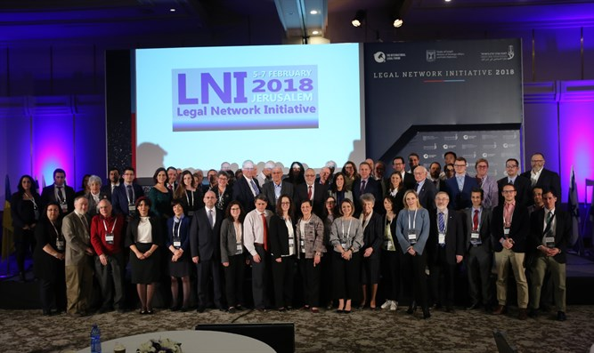 Lawyers at Legal Network Initiative conference