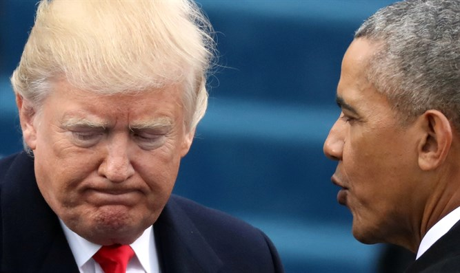 Donald Trump meets with Barack Obama