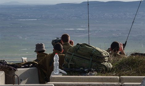 IDF vigilant at Syrian border