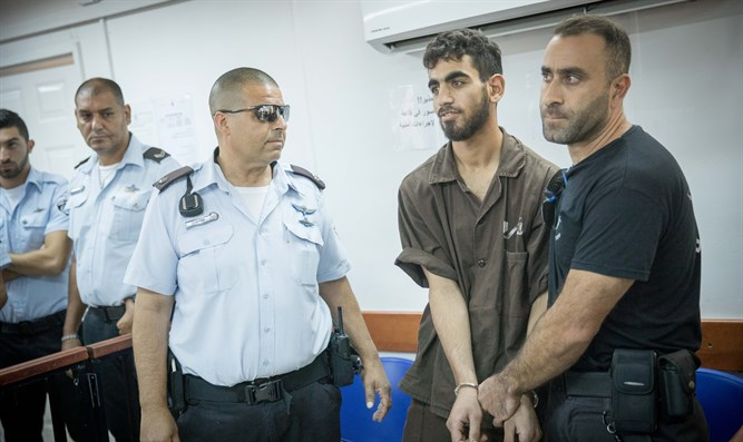Omer al-Abed at earlier hearing