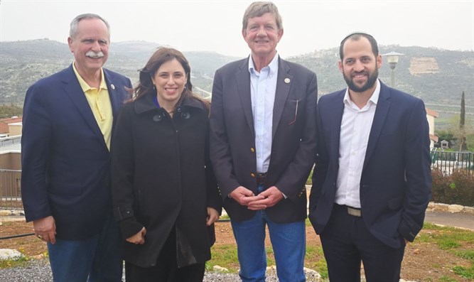 Congressmen David McKinley (left) and Scott Tipton (2nd from right) visit Rehelim in Samar