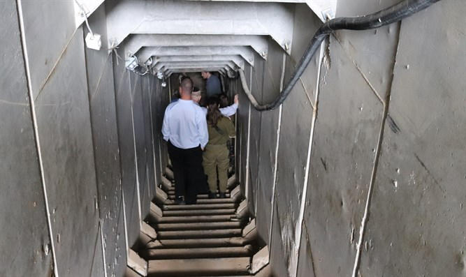 A look inside a Hamas terror tunnel