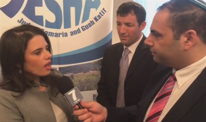 Minister Ayelet Shaked in interview with Arutz Sheva