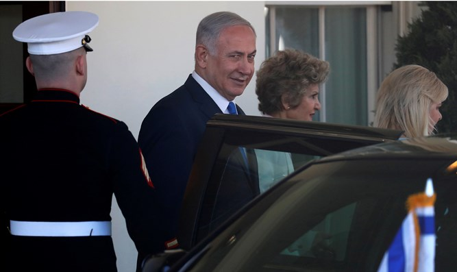 Netanyahu in Washington D.C.