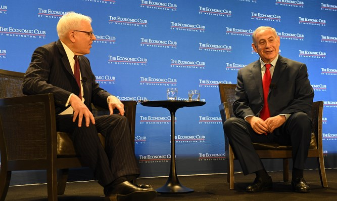 Netanyahu at The Economic Club in Washington