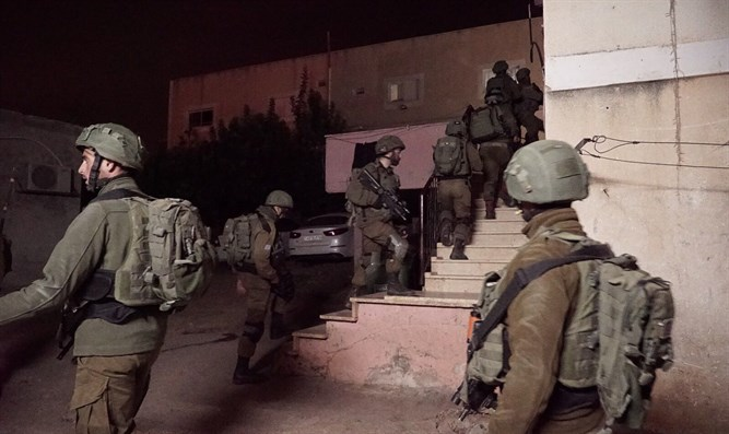 Forces operating last night