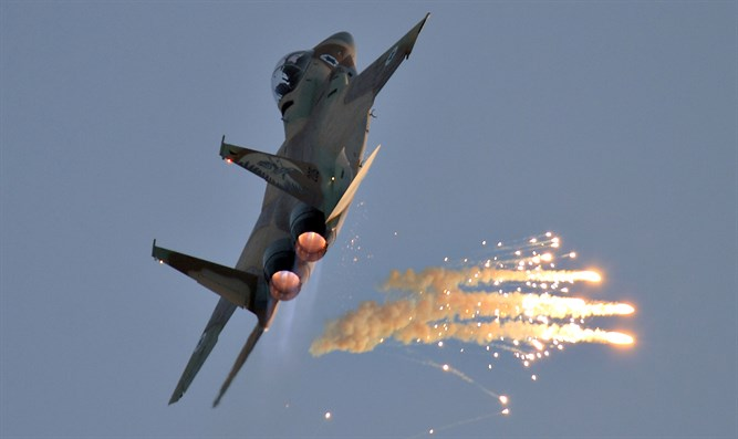 IDF warplane