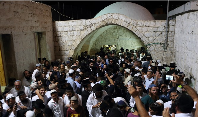 Prayer at Joseph's Tomb