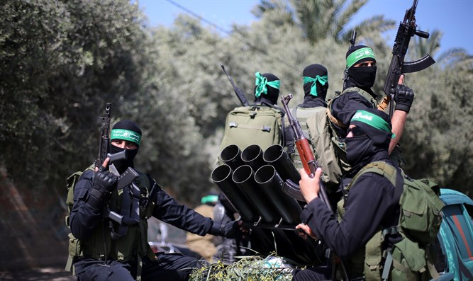 Hamas trains for confrontation with Israel