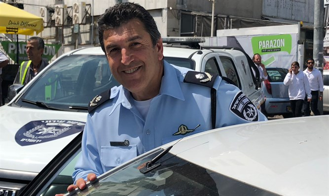 Jerusalem District Commander Yoram Halevi