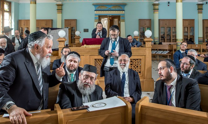 Conference of European Rabbis meets in Riga