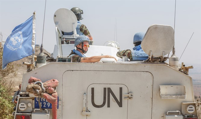 UNDOF peacekeepers (file)
