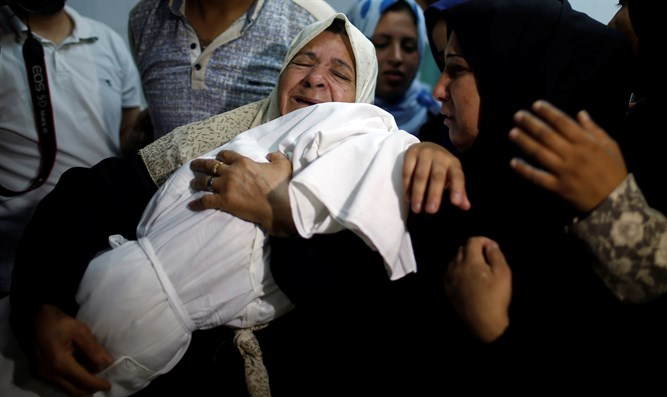 The baby that was killed in Gaza