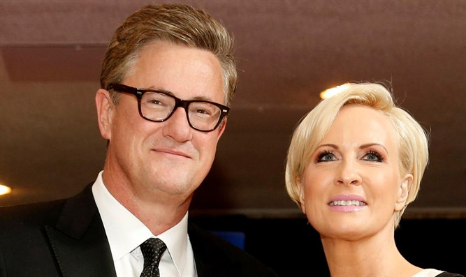 MSNBC's Joe Scarborough and Mika Brzezinski
