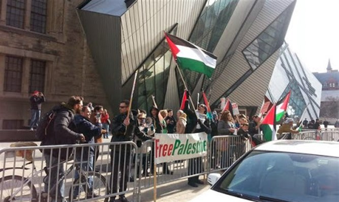 Anti-Israel rally in Toronto (illustrative)
