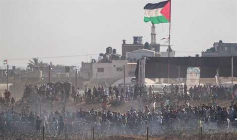 Riot on the Gaza border