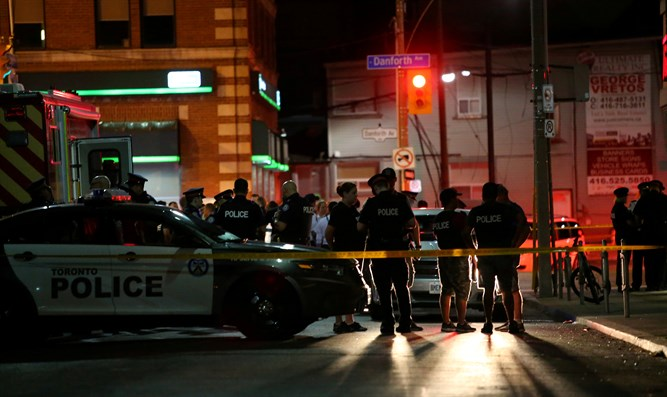 Scene of Toronto mass shooting