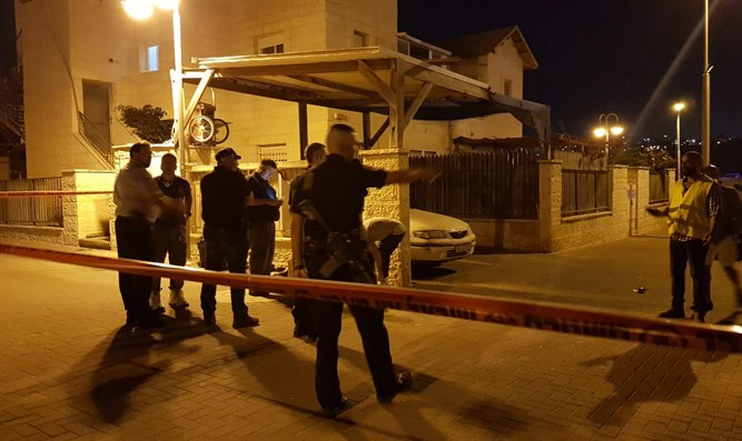 Scene of stabbing attack in Adam