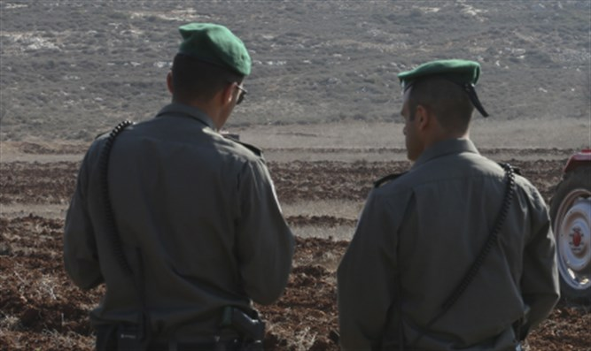Border Police officers