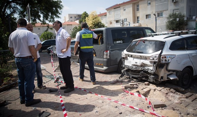 rocket attack on Sderot