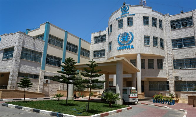 UNRWA facilities in southern Gaza