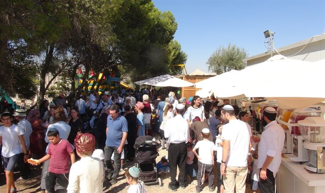 Celebrating Sukkot in Kidmat Zion