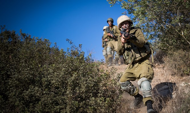 Haredi Givati unit trains near Beit Shemesh