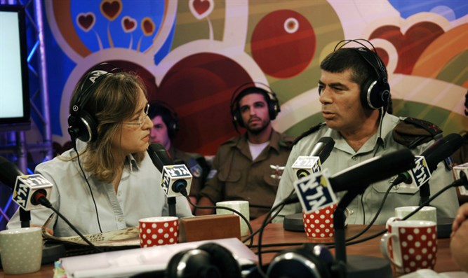 Former IDF Chjef of Staff Gabi Ashkenazi at Army Radio