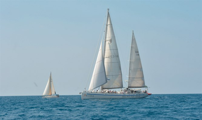 Yachts from Swedish flotilla