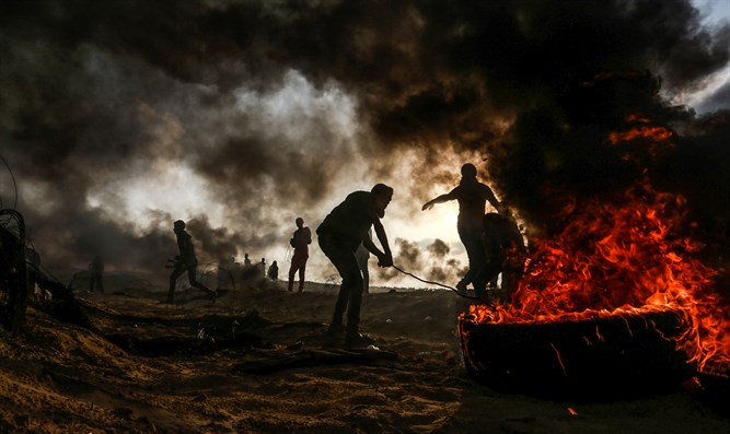 Gaza rioters