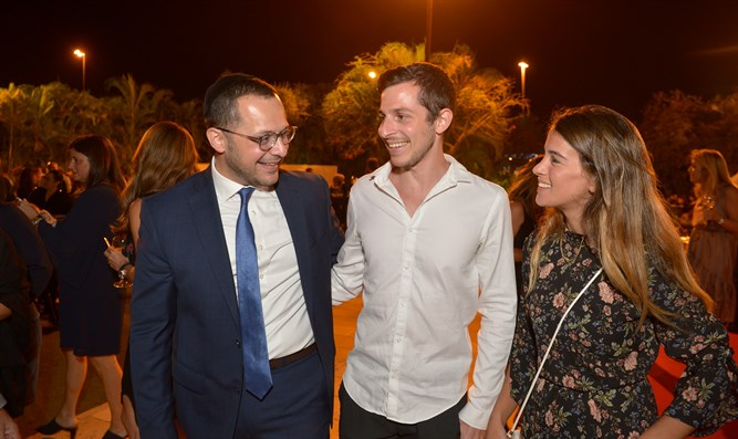 Gilad Shalit at the Shalva Israel Gala Dinner