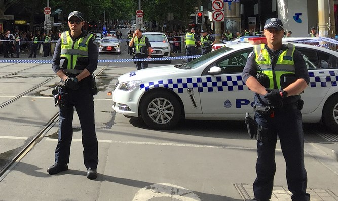 Site of Melbourne stabbing attack
