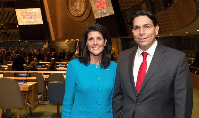 Ambassadors Danny Danon Nikki and Haley