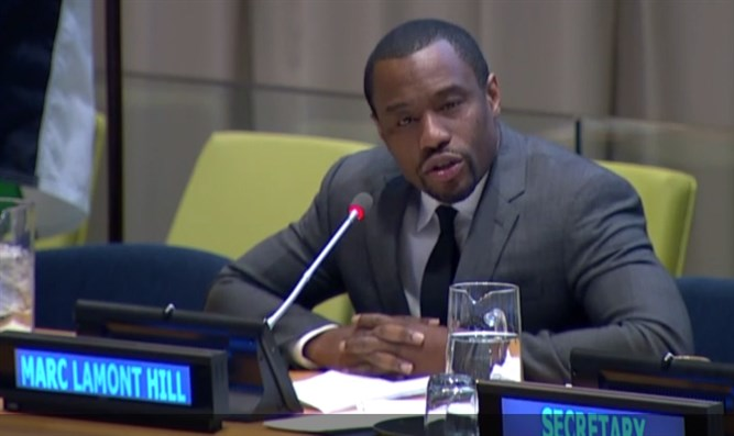 Marc Lamont Hill at United Nations