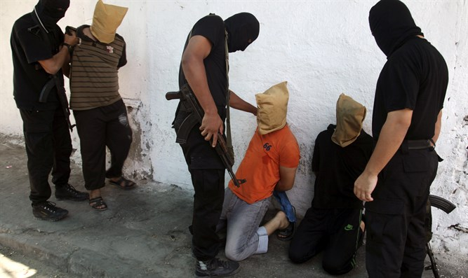 Hamas prepares accused 'collaborators' for execution