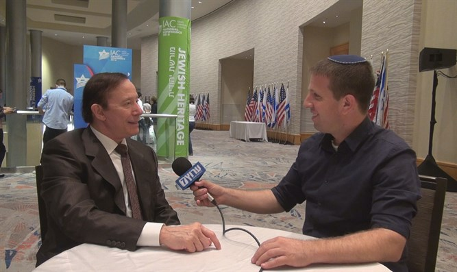 IAC chairman Adam Milstein at the IAC Conference in Miami