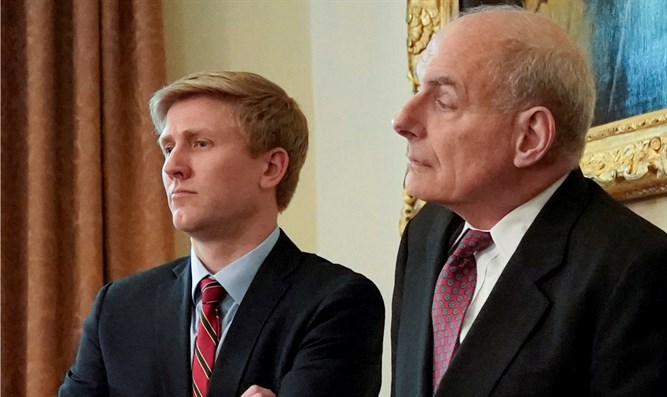 Nick Ayers (L) and John Kelly (R)