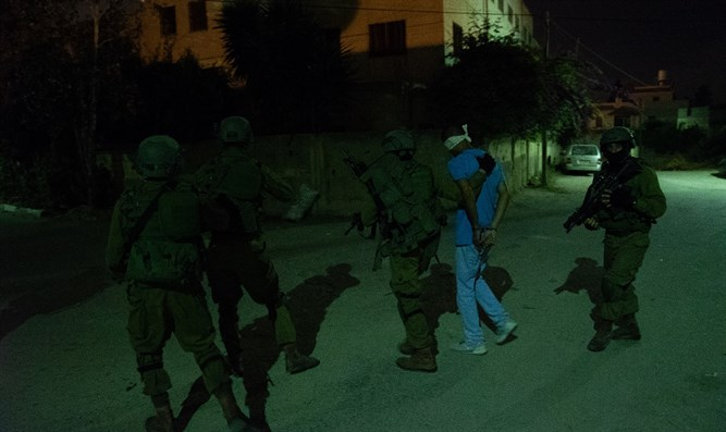 IDF operation locate Barkan terrorist