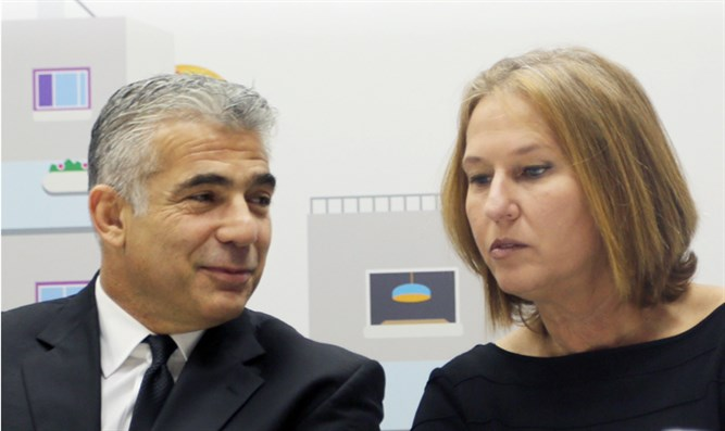 Lapid and Livni