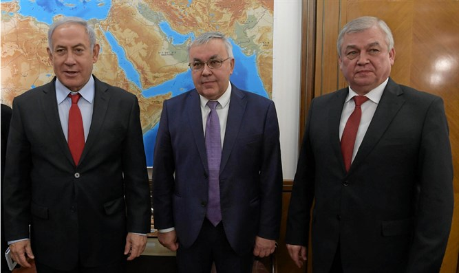 Netanyahu meets Russian representatives