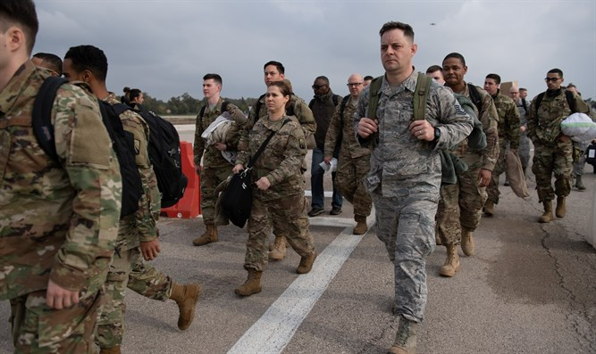 Joint US military-IDF exercise begins - Israel National News