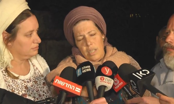 Ori Ansbacher's mother speaks with the media