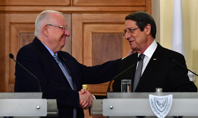 Rivlin with Anastasiades.