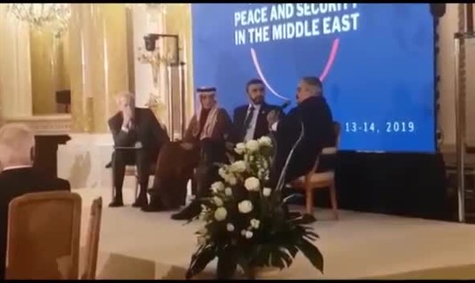 Panel of Arab foreign ministers in Warsaw