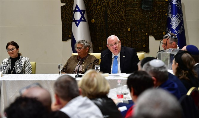 President Rivlin at 929 Bible Study Group - 17 February 2019