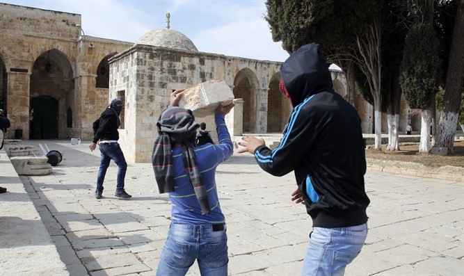 TEMPLE Mount riots (archive)