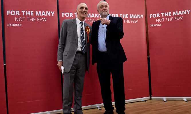 Chris Williamson with Jeremy Corbyn