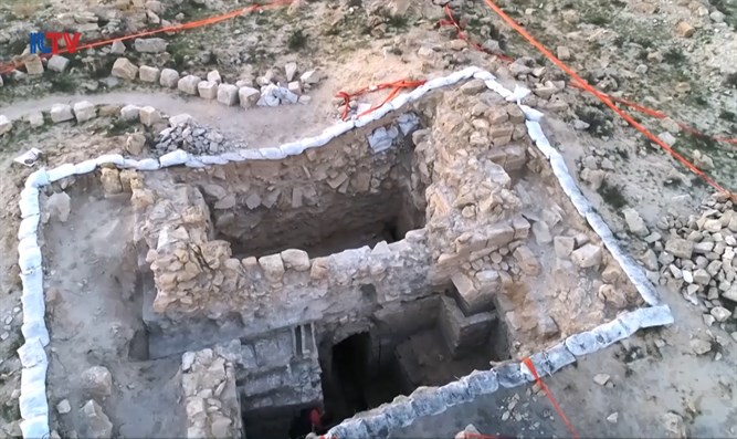 Inscription confirms ancient Negev city