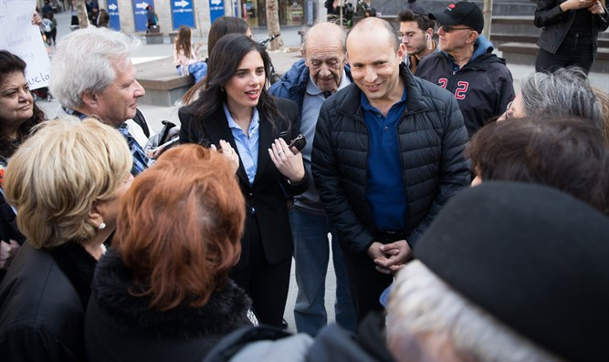 Shaked and Bennett campaign for New Right