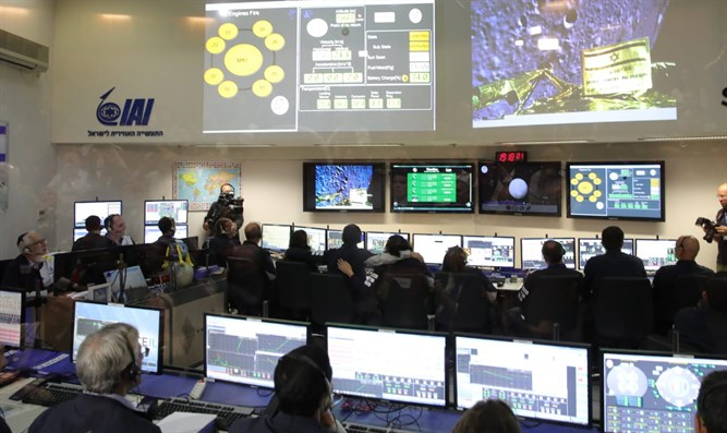 SpaceIL control room